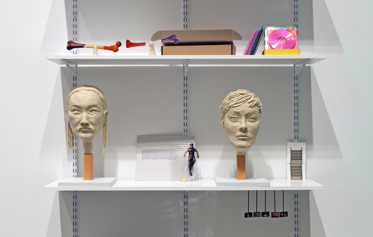 Book Shelf with Objects
