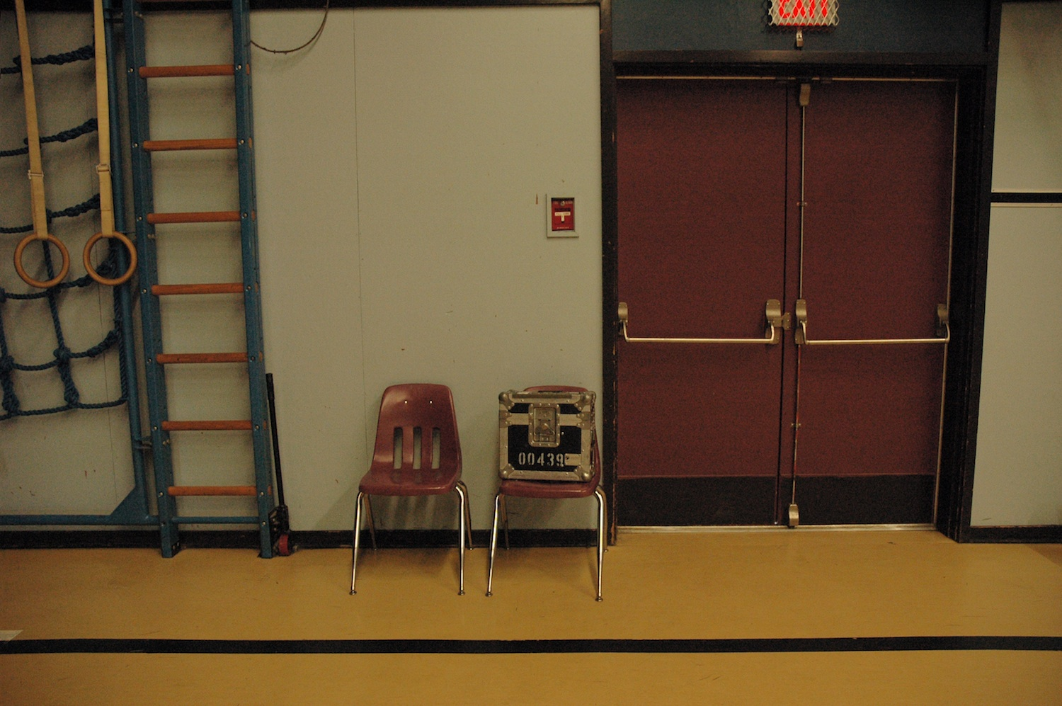 Chairs in Gym